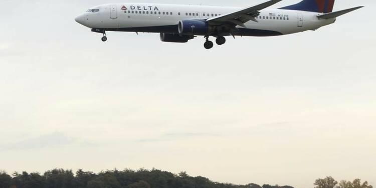 Bénéfice en hausse de 43% pour Delta Air Lines au 4e trimestre