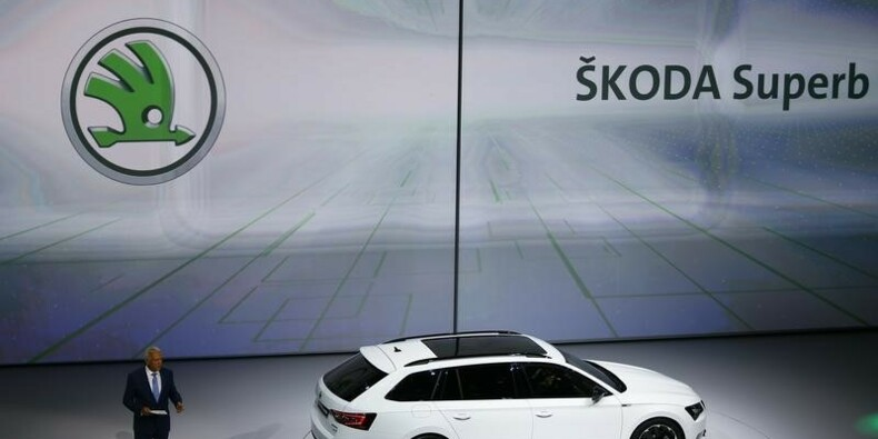Skoda a vendu 1,06 million de voitures en 2015