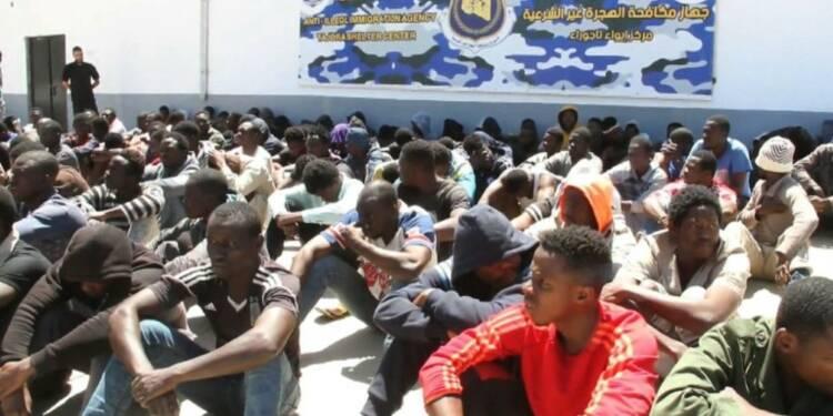 Libye: 7.000 migrants détenus dans les centres de rétention