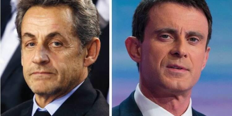 """Valls accuse Sarkozy de """"courir derrière l'extrême droite"""""""