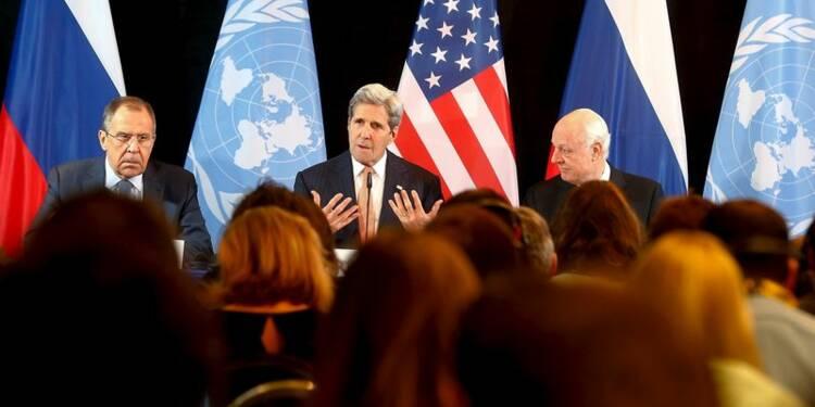 Accord sur un plan de cessation des hostilités en Syrie