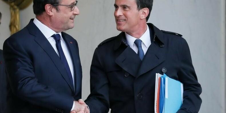 Hollande entraîne Valls dans la chute de sa cote de confiance