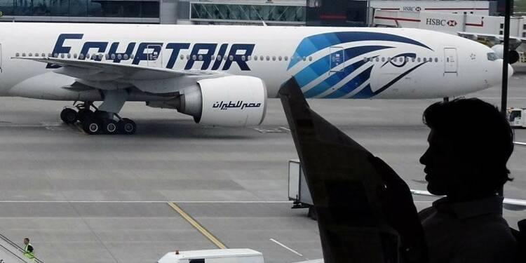 L'une des deux boîtes noires de l'Airbus d'EgyptAir repêchée