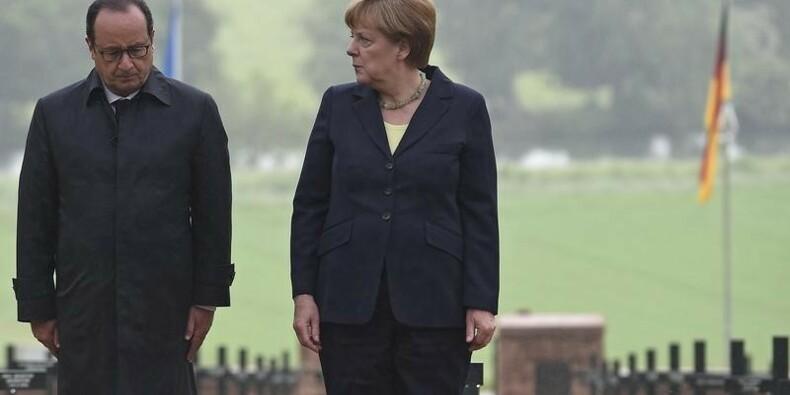 Hollande et Merkel invitent l'UE à ne pas oublier Verdun