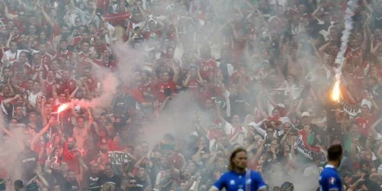 Six supporters hongrois en garde à vue à Marseille