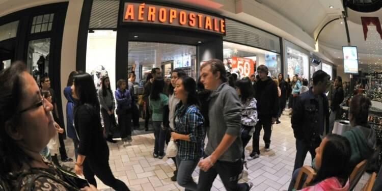 Etats-Unis: la chaîne d'habillement Aeropostale en faillite