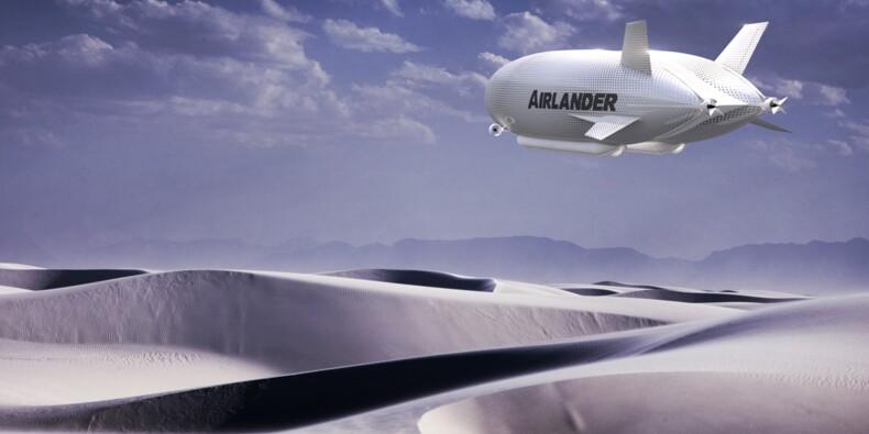 Le plus grand aéronef du monde prend son envol