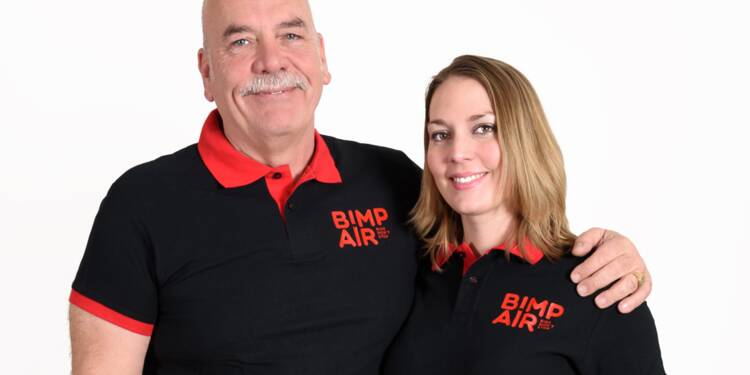 Nancy et Marcello Aghilone : ils proposent une pompe à vélo rechargeable