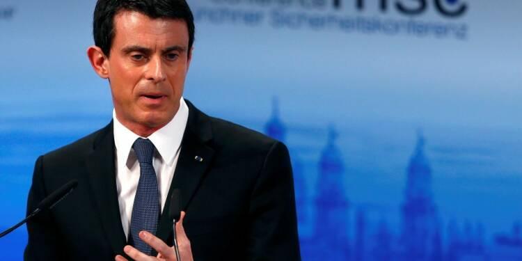 Manuel Valls prône une diminution du flux des réfugiés
