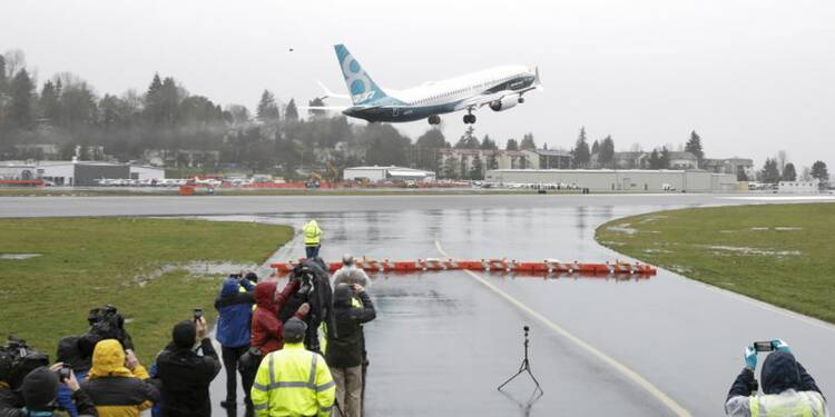 Le Boeing 737 MAX effectue son vol inaugural
