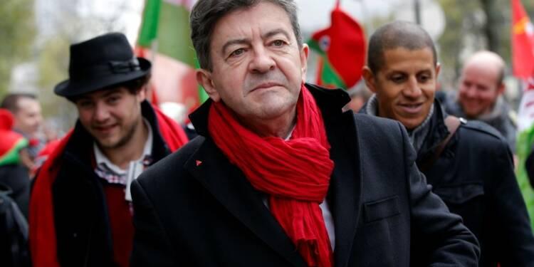 Jean-Luc Mélenchon candidat à la présidentielle de 2017