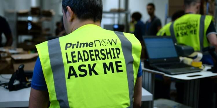 Amazon: la ville de Paris s'alarme du nouveau service de livraison en une heure