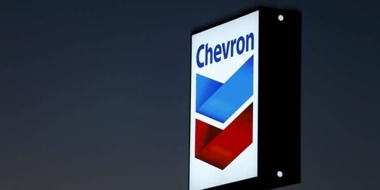 Chevron en perte nette au 1er trimestre