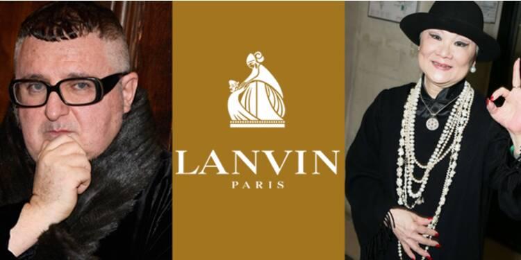 Bataille de chiffonniers chez le couturier Lanvin