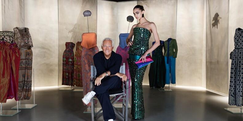 Giorgio Armani (né en 1934) : roi du style, as du marketing