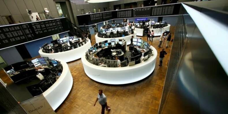 Les Bourses européennes poursuivent leur rebond à l'ouverture