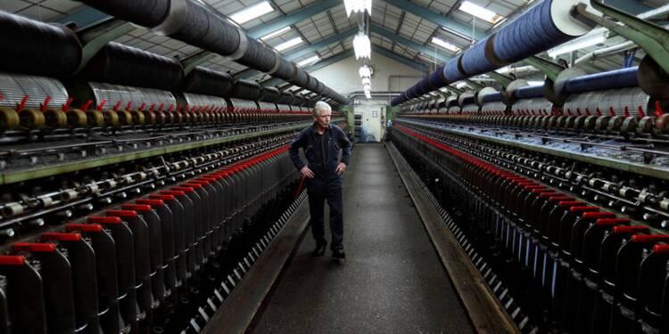 Baisse de la production manufacturière britannique en mars