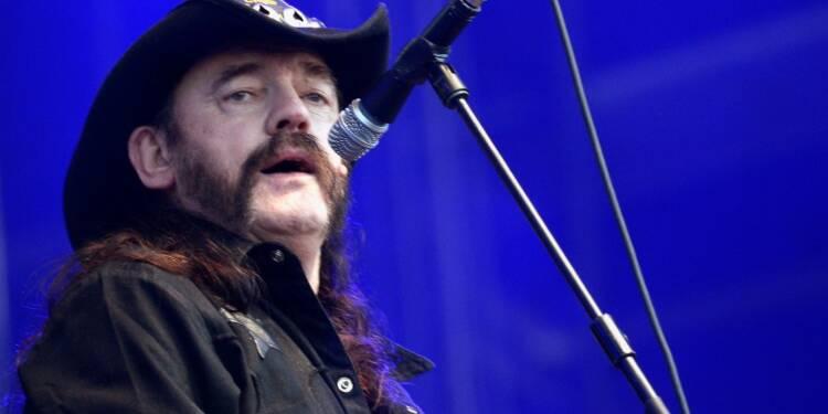 Mort à 70 ans de Lemmy, le chanteur du groupe Motörhead