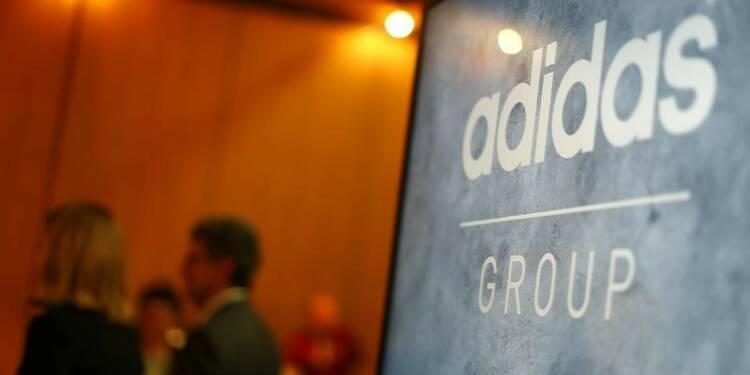 Adidas a conclu un partenariat avec le groupe chinois Wanda