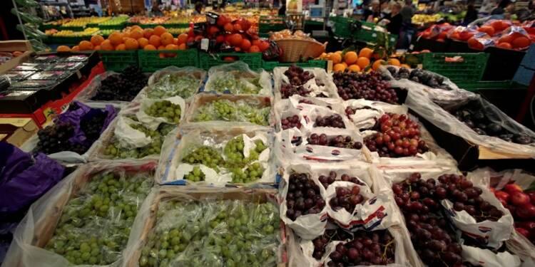 Les prix des fruits et légumes atteignent un record en France