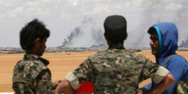 Fronts multiples contre l'Etat islamique en Syrie et en Irak