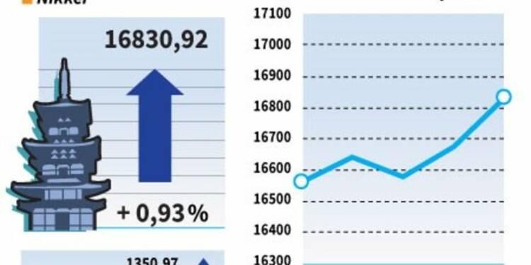 La Bourse de Tokyo clôture en hausse malgré la Chine et le yen
