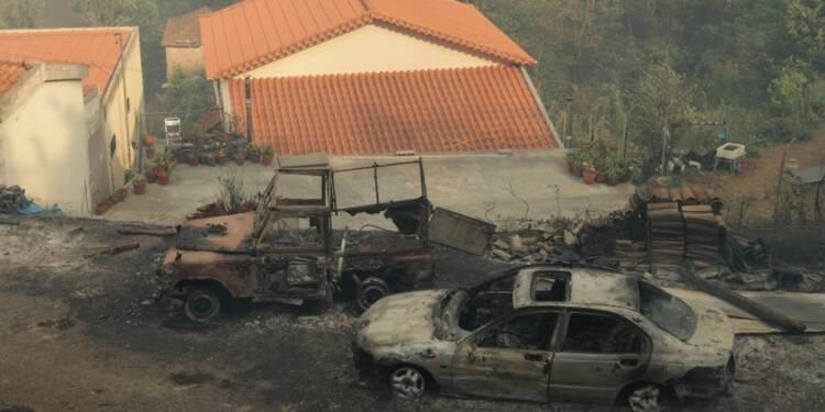 Des incendies au Portugal ont fait quatre morts