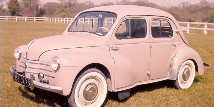 renault 4 cv  1947   elle a remis la france sur roues