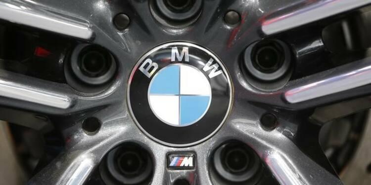 BMW atteint des ventes record en mars