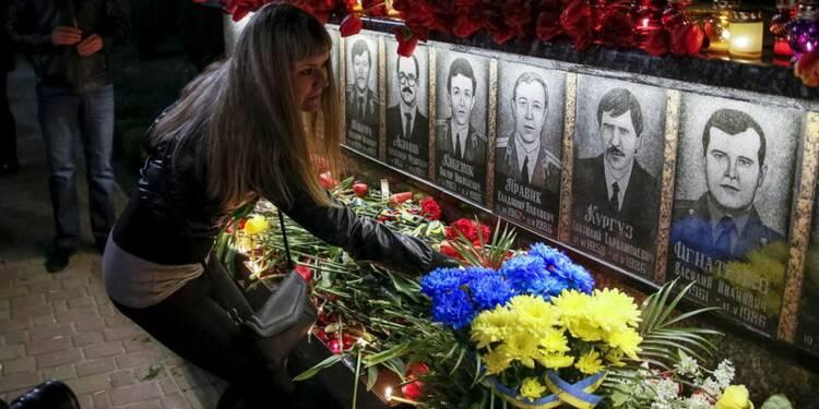 L'Ukraine commémore le 30e anniversaire de Tchernobyl
