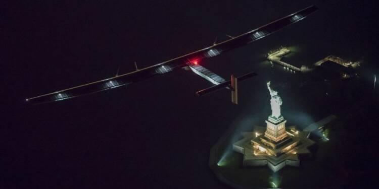 Solar Impulse lance l'étape transatlantique de son tour du monde