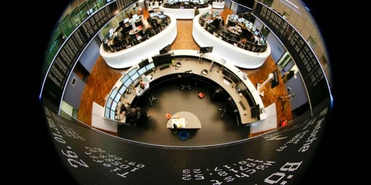Clôture en hausse des Bourses en Europe