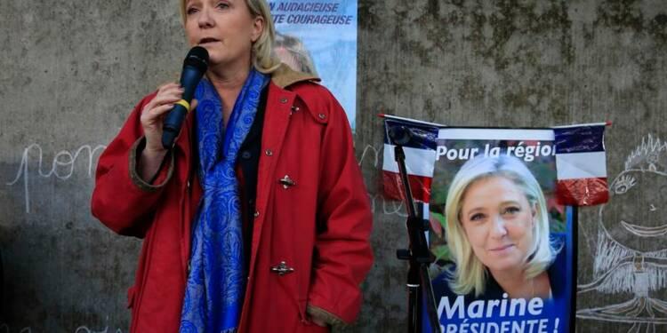 Marine Le Pen s'en prend au quotidien La Voix du Nord
