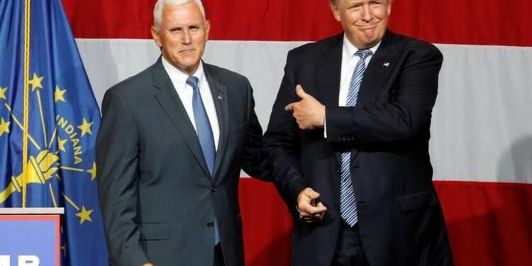 Donald Trump choisit le gouverneur Mike Pence comme colistier
