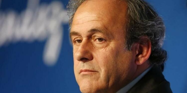 La suspension de Michel Platini maintenue