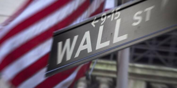 La Bourse de New York finit en baisse