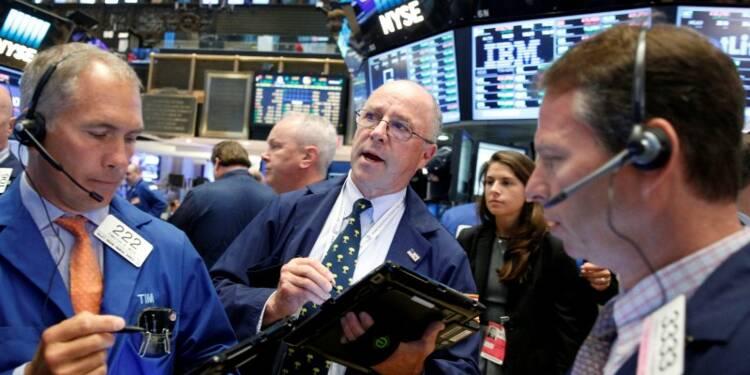 Wall Street clôture en hausse une 2e séance de suite