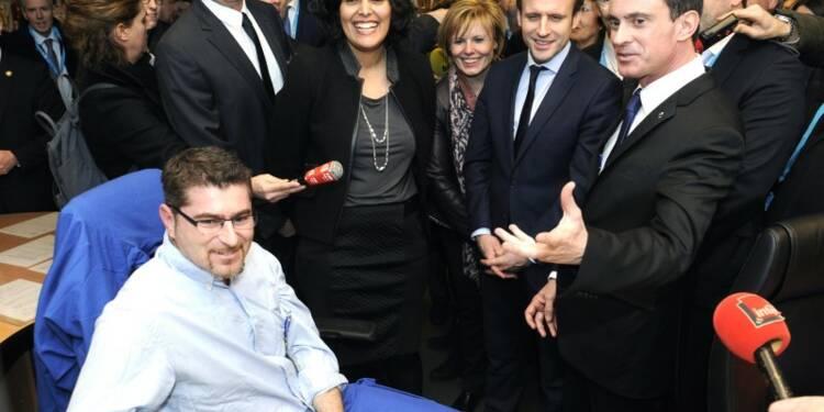 """Valls défend une réforme du marché du travail """"du XXIe siècle"""""""