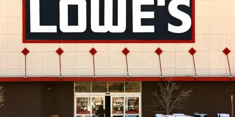Lowe's affiche de meilleures ventes que prévu au 4e trimestre