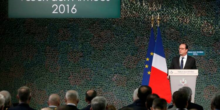 François Hollande annonce la mobilisation de 40.000 réservistes