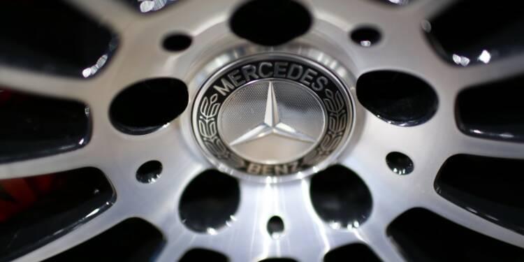 Mercedes-Benz enregistre en mars des ventes record