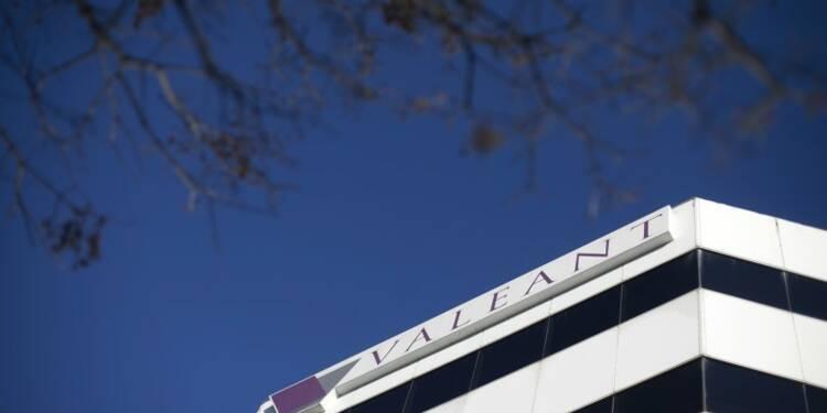 Résultats trimestriels de Valeant en baisse