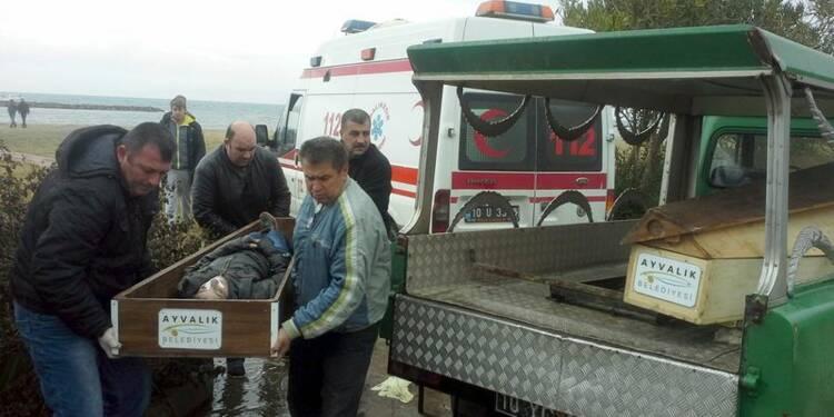 Trente-quatre migrants retrouvés morts sur les côtes turques