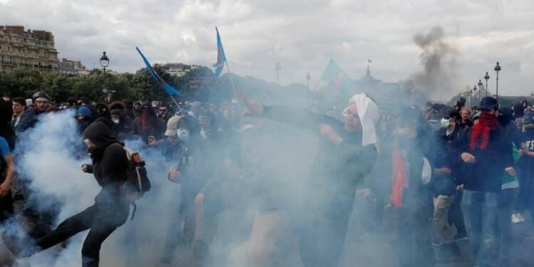 Polémique entre le gouvernement et la CGT sur les violences