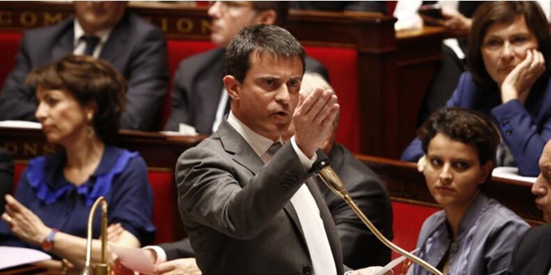Suivez en direct le grand oral de Manuel Valls à l'Assemblée