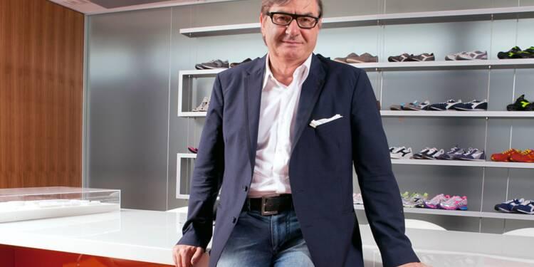 La patron de Geox prend son pied dans la chaussure