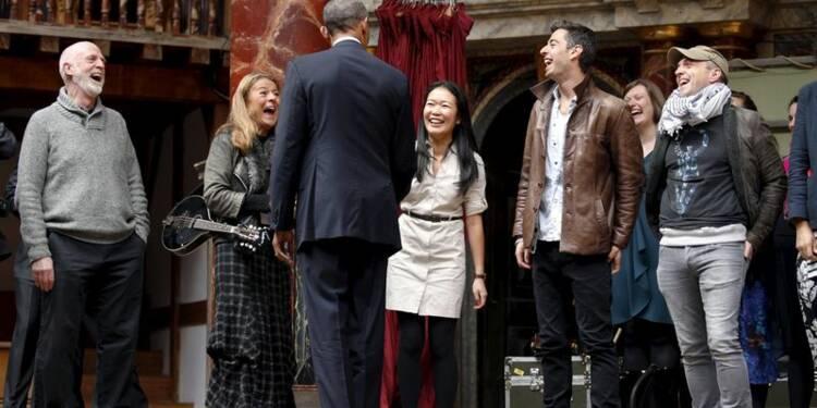 Barack Obama au 400e anniversaire de la mort de Shakespeare