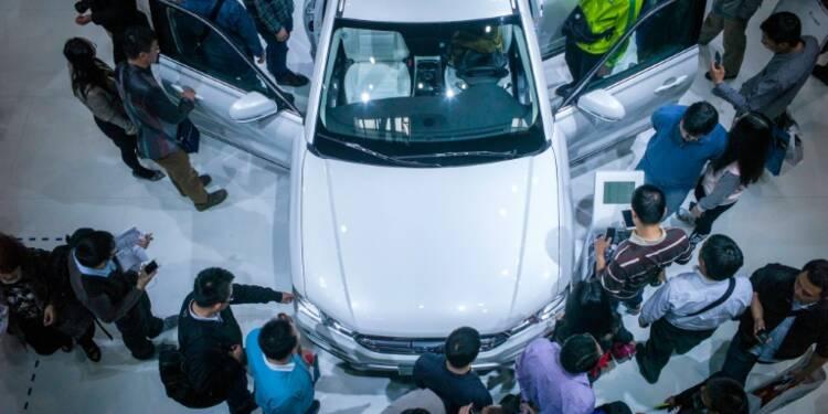Chine: les constructeurs misent sur des voitures ultra-connectées