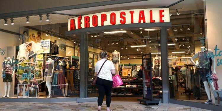 La chaîne de prêt-à-porter Aeropostale dépose son bilan