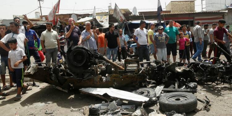 Au moins 80 morts dans une série d'attentats à Bagdad
